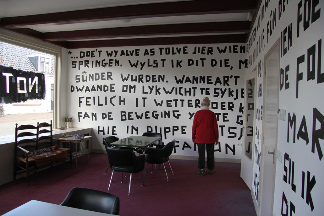 louwrien wijers writing as sculpture louwrien